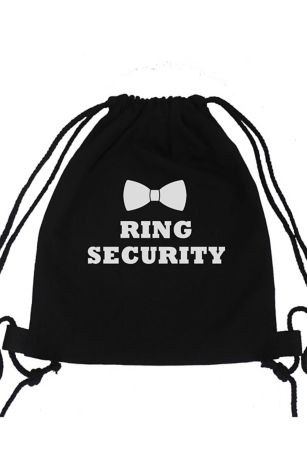 Ring Security Canvas Backpack