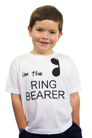 "I""m The Ring Bearer Hashtag Nailed it Tee"