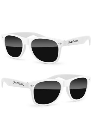 Personalized Retro Party Sunglasses