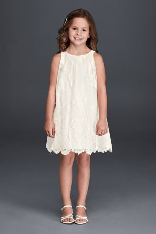 Short A-Line Dress - David's Bridal