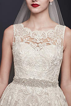 Bridal Sashes Amp Wedding Dress Belts David S Bridal