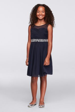 Soft & Flowy Speechless Short Bridesmaid Dress