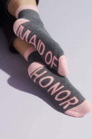 Maid of Honor Crew Socks