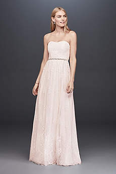 Long Sheath Strapless Dress Db Studio