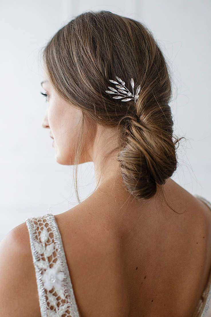 Marquise Crystal Sprig Hair Pin Set