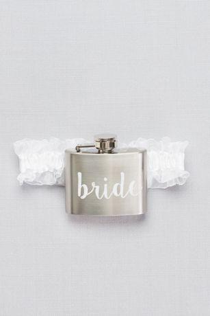 Bride Flask Garter