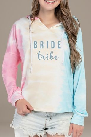 Bride Tribe Tie Dye Sweatshirt