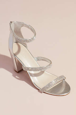 Women Low Slim Heels Pointed Toe Pull on Sweet Elegant Sandals Party OL Shoes Sz