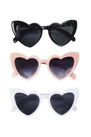 Cat-Eye Heart Sunglasses