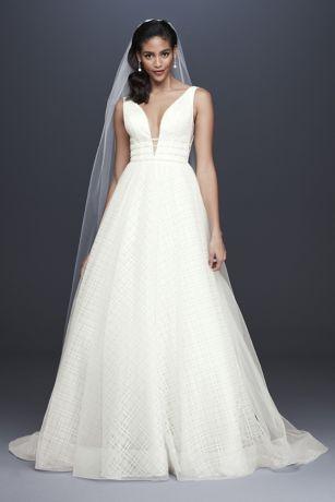 Long Ballgown Wedding Dress - Galina Signature