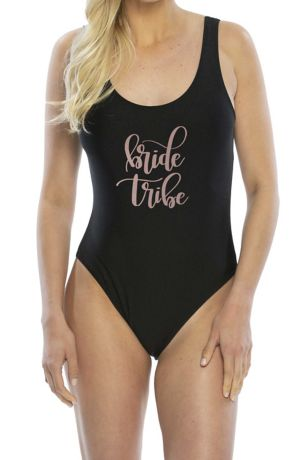 Bride Tribe One-Piece Swimsuit