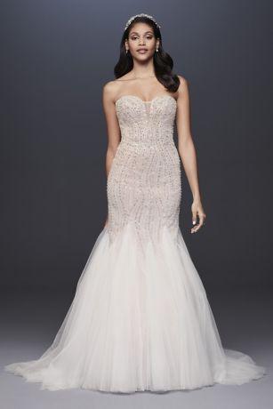 Long Mermaid/Trumpet Wedding Dress - Galina Signature
