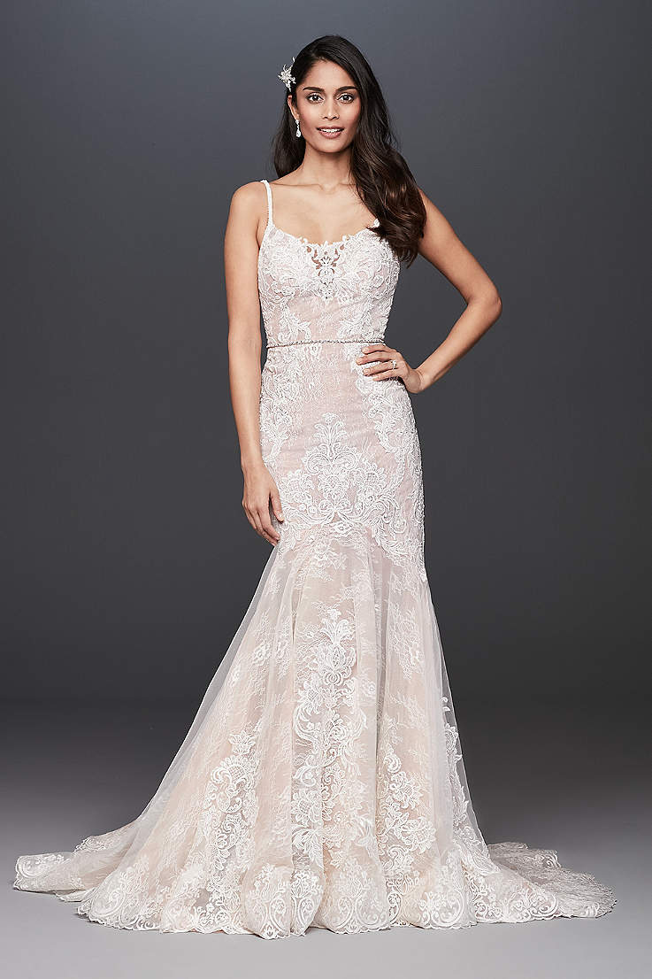 e65035a960d43c Long Mermaid  Trumpet Wedding Dress - Galina Signature