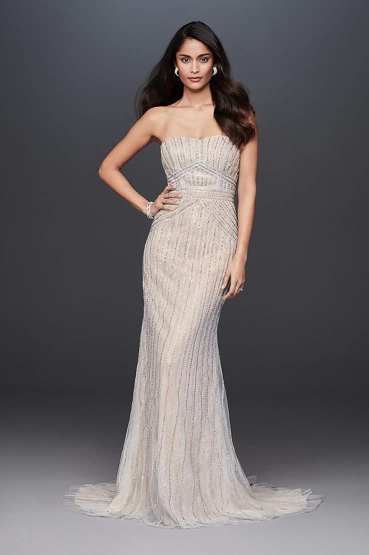 c9252a03e4 Long Sheath Wedding Dress - Galina Signature