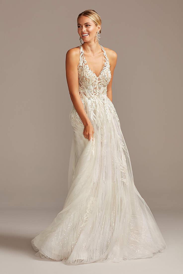 Sexy Backless Wedding Dresses David S Bridal