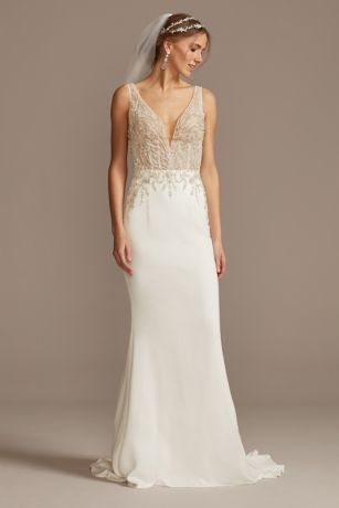 Soft & Flowy Galina Signature Long Bridesmaid Dress