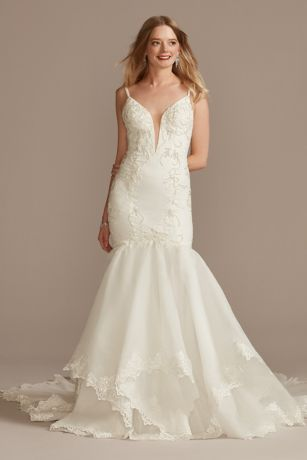 Long Mermaid / Trumpet Wedding Dress - Galina Signature