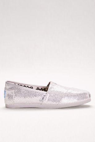 364b35a31c6c TOMS Glitter Classic Slip-On Shoes