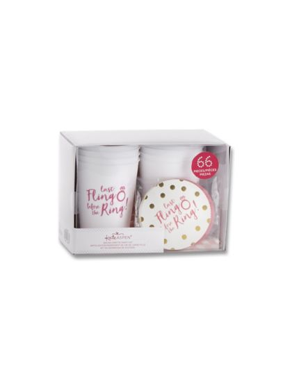 Last Fling Before the Ring Bachelorette Party Kit - Wedding Gifts & Decorations