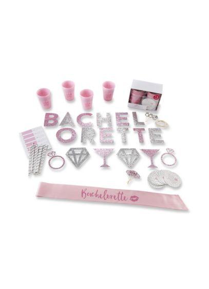 74 Piece Glitter Bachelorette Party Kit - Wedding Gifts & Decorations
