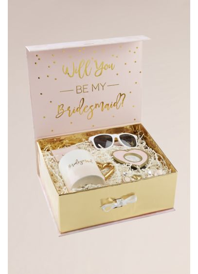 Will You Be My Bridesmaid Gift Box Kit - Wedding Gifts & Decorations
