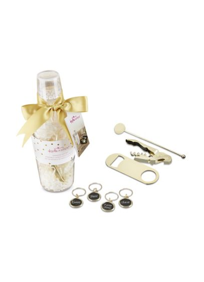 Barware Gift Set in Clear Acrylic Cocktail Shaker - If you're looking for bar gifts for him