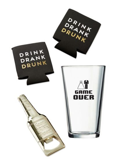 Game Over Beer Gift Kit - It's not just the bride that asks her