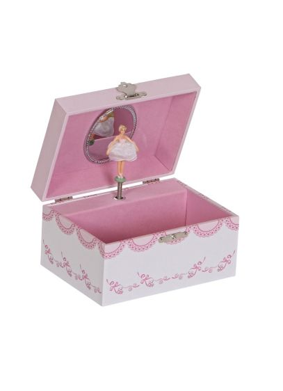 Clarice Girl S Musical Ballerina Jewelry Box David S Bridal