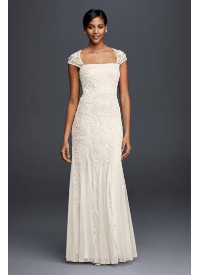 Long Sheath Casual Wedding Dress - DB Studio