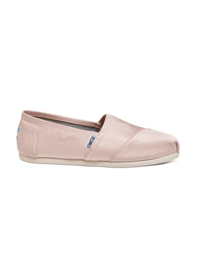 TOMS Pink (TOMS Grosgrain Classic Slip-On Shoes)
