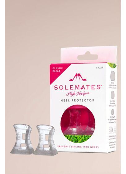 Solemates High Heeler Classic Heel Protectors - These clear high heel protectors allow you to