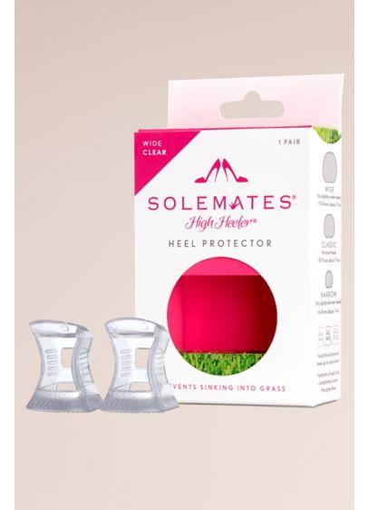 Solemates High Heeler Wide Heel Protectors - Wear your favorite wide heels on grass, decks,