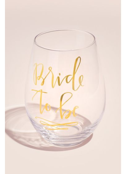 Yellow (Bride to Be Entire Bottle Oversized Wine Glass)