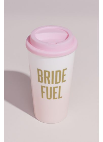 Ombre Metallic Bride Fuel Insulated Travel Tumbler - Wedding Gifts & Decorations