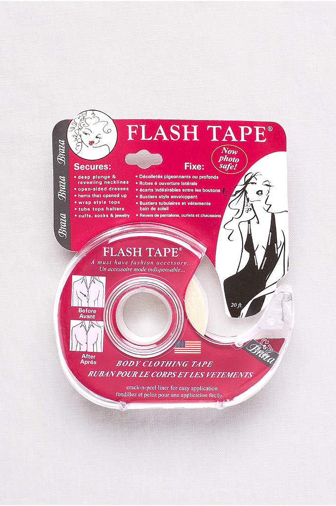 Flash Tape- Body and Clothing Fashion Tape - Fashion tape is a must-have for securing plunging