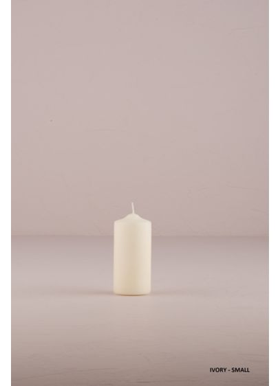 Round Pillar Candles - Wedding Gifts & Decorations