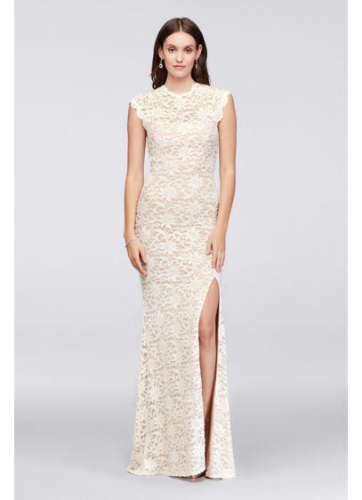 Long Sheath Casual Wedding Dress - Jump