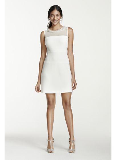 Short A-Line Wedding Dress - Studio 1