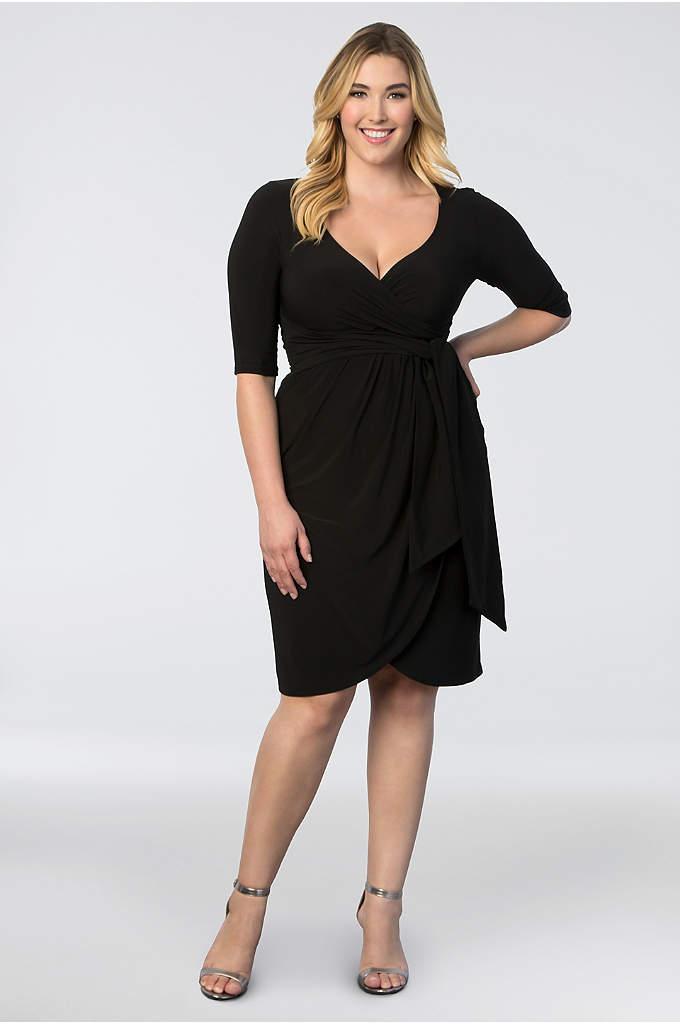 Elise Flutter Plus Size Dress David S Bridal