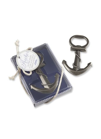 Anchor Nautical Themed Bottle Opener Favor - Wedding Gifts & Decorations