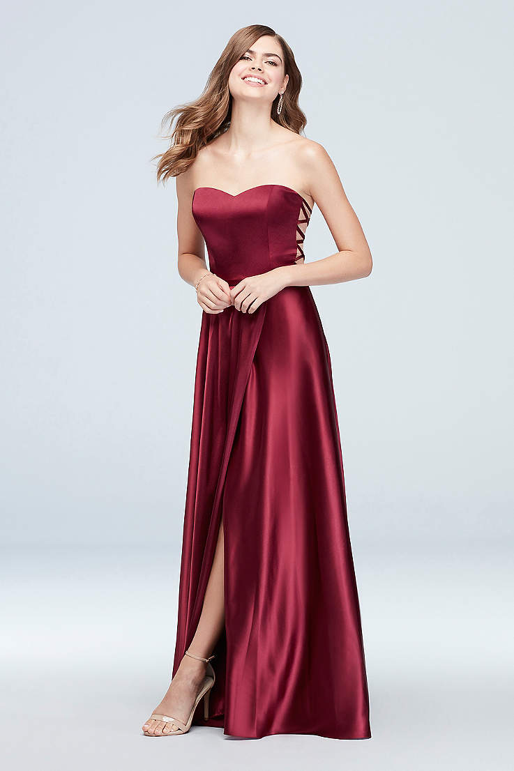 Wine Colored Dresses