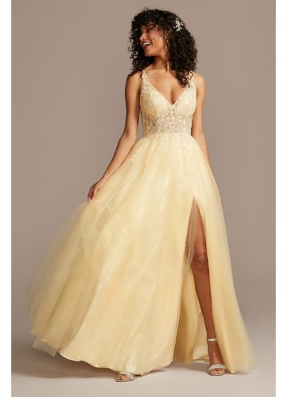 Long Ballgown Tank Formal Dresses Dress - Blondie Nites