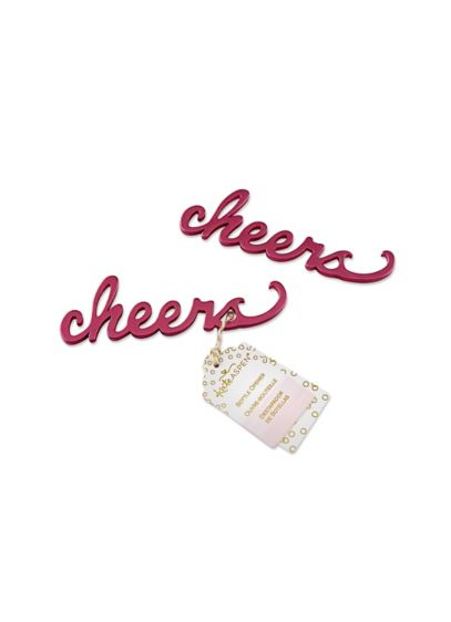 Cheers Script Bottle Opener - Wedding Gifts & Decorations