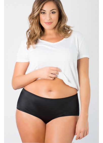 Curvy Couture Essential Boyshort - These super-smooth essential boyshorts are effortless and comfortable