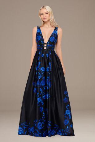 Long Ballgown Tank Dress - Blondie Nites