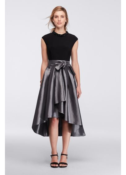 Short Ballgown Cap Sleeves Cocktail and Party Dress - Ignite