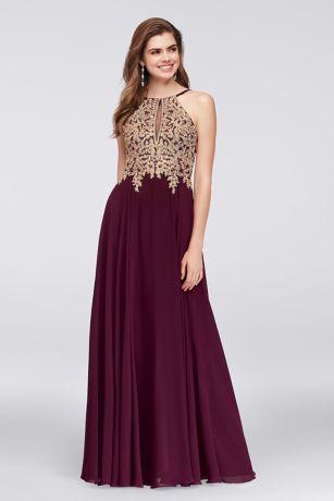 Long A-Line Wedding Dress - Xscape
