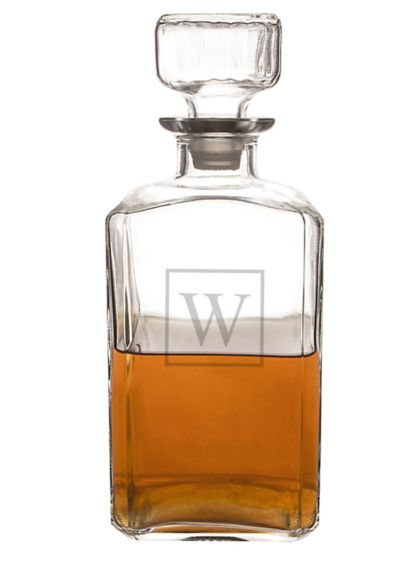 Personalized Glass Decanter - Wedding Gifts & Decorations