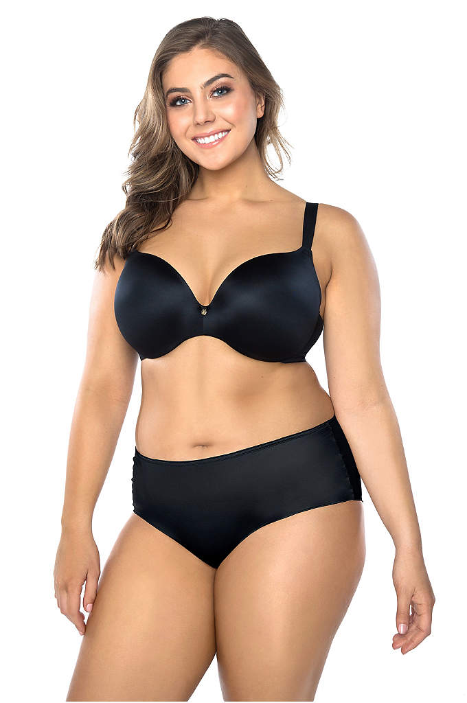 Curvy Couture Dream Lift Push-Up Demi Bra - The Dream Lift bra supports your look with