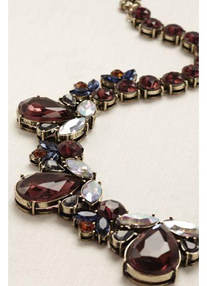 David's Bridal Multi (Multi Stone Statement Necklace)